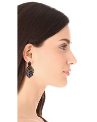 Aurelie Bidermann | Metallic Wild West Clip On Lapis Lazuli Earrings | Lyst
