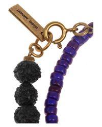 Isabel Marant - Blue Yakata and Mira Set Of Two Bracelets - Lyst