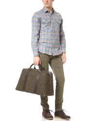 Jack Spade Brown Wayne Donegal Duffel Bag for men