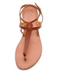 Joie Brown A La Plage Toulon Sandals - Cognac