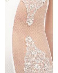 La Perla White Sparkling Jasmine Bodysuit