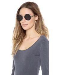 Wildfox Metallic Winona Sunglasses