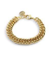 1AR By Unoaerre - Metallic Fishtail Grommet Link Bracelet - Lyst