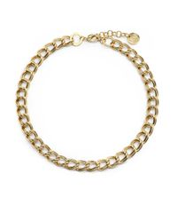 1ar | Metallic Twisted Double Link Necklace | Lyst