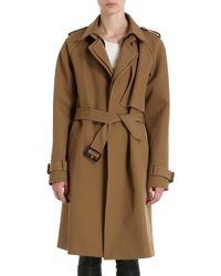 A.L.C. Brown Lindstam Trench Coat