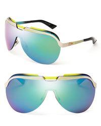Dior Multicolor Shield Sunglasses