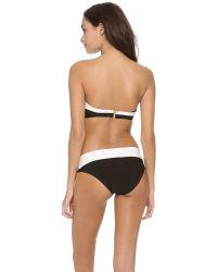 Hervé Léger White Erika Bandeau Bikini Set