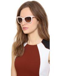 Jimmy Choo Natural Flash Sunglasses