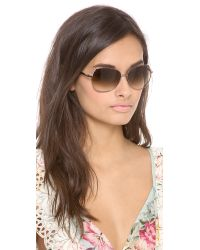 kate spade new york Brown Candida Sunglasses