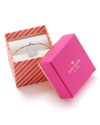 kate spade new york - Metallic In A Twinkling Bangle - Lyst