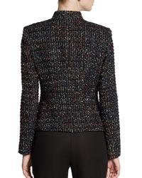Lafayette 148 New York - Black Menon Tweed 3-Button Jacket - Lyst