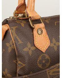 Louis Vuitton Brown Mini Tote