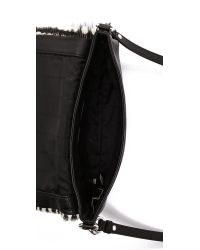 Marc By Marc Jacobs Black Too Hot To Handle Haircalf Percy Bag