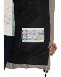 Moncler Gray Fargon Coat