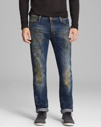 PRPS Blue Jeans Rambler Straight Fit in Indigo for men