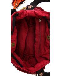 Stela 9 Red Ganesha Bucket Bag