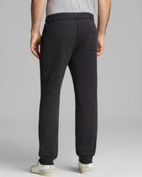 Steven Alan Gray Charles Waffle Knit Sweatpants for men