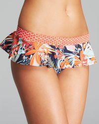 Tory Burch Multicolor Calathea Skirted Bikini Bottom