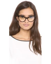 Wildfox Brown Le Femme Spectacle Glasses