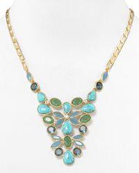 Carolee - Multicolor California Girls Small Bib Necklace 18 - Lyst