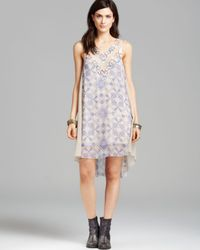 Free People Multicolor Dress Ancient Mystery