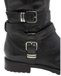 ALDO Black Kotlarova Buckle Knee Boots