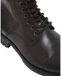 ALDO Brown Timo Leather Boots for men