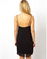 ASOS - Orange Cami Slip Dress - Lyst