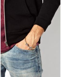 Nike - Metallic Bangle With Arrow Heads for Men - Lyst