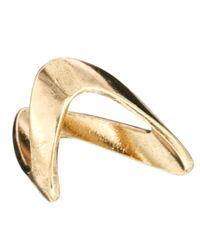 ASOS | Metallic V Ring for Men | Lyst