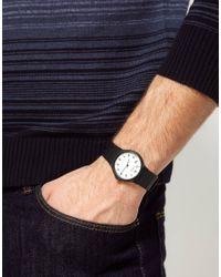 G-Shock | Black Casio Rubber Watch | Lyst