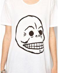 Cheap Monday Black Skull Tshirt