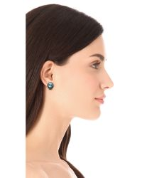 DANNIJO - Blue Bracco Earrings - Lyst