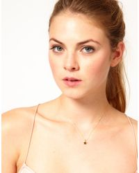 Dogeared | Metallic Gold Plated Make A Wish Rising Star Necklace | Lyst
