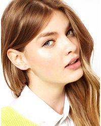 Dogeared Metallic Exclusive Bow Stud Earrings
