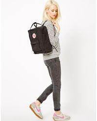 Fjallraven Black Kanken Mini Backpack