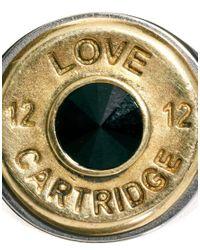 Love Bullets | Metallic Lovebullets Two Tone Cartridge Ring for Men | Lyst