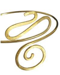 M.a.d.e - Metallic Nyoko Swirl Arm Cuff - Lyst