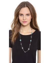 Marc By Marc Jacobs - Blue Long Animals Medley Necklace - Lyst