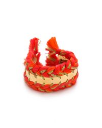Aurelie Bidermann Orange Copacabana Bracelet - Geranium