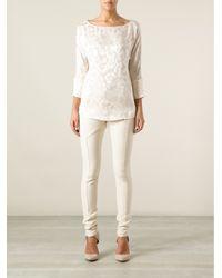 Thakoon | White Skinny Trouser | Lyst