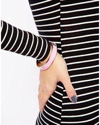 Tokyo Jane Pink Flat Porcelain Bracelet