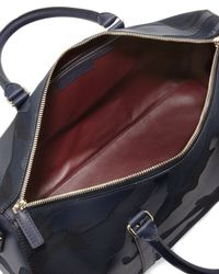 Valentino Blue Mens Camouflage Small Duffel Bag for men
