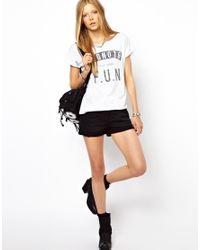 Zoe Karssen White Blondes Have Fun Tshirt