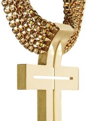 AQ/AQ Metallic Scott Wilson For Aqaq Devine Choker Necklace