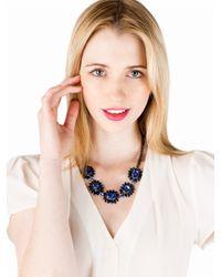 BaubleBar Blue Sapphire Bud Necklace