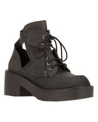 Jeffrey Campbell - Black Coltlace Boot - Lyst
