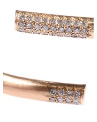 Lara Melchior | Metallic Diamond Yellow Gold Bracelet | Lyst
