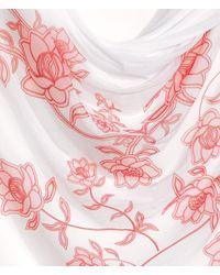 H&M | Pink Draped Top | Lyst