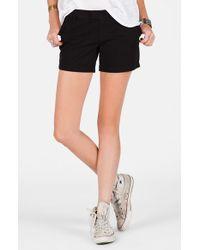 Volcom | Black 'frochickie' Chino Shorts | Lyst